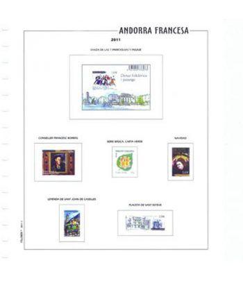 Filober Suplemento Color Andorra Francesa 2019 con protectores Hojas FILOBER Color - 2