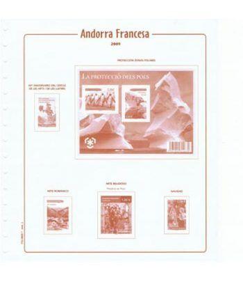 Filober Suplemento Cultural Andorra Francesa 2019 con protectores Hojas FILOBER Cultural - 2