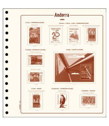 Filober Suplemento Cultural Andorra Española 2020 con protectores Hojas FILOBER Cultural - 2
