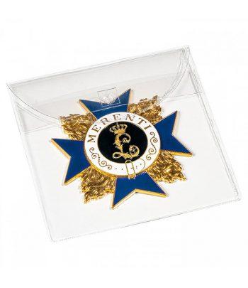LEUCHTTURM Bolsa protectora para medallas y condecoraciones hasta 90 mm.  - 1