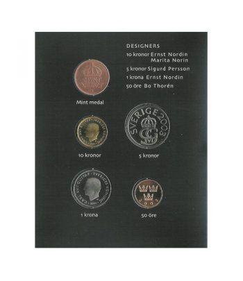 Estuche monedas Suecia 2003  - 2