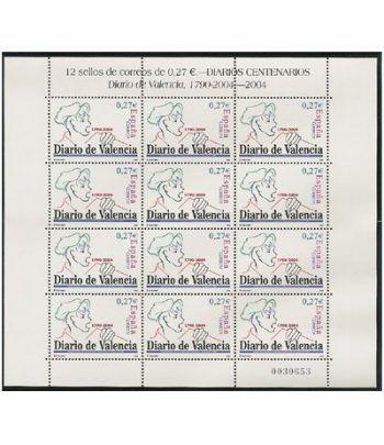 Minipliego 85 Diario de Valencia 2004  - 2