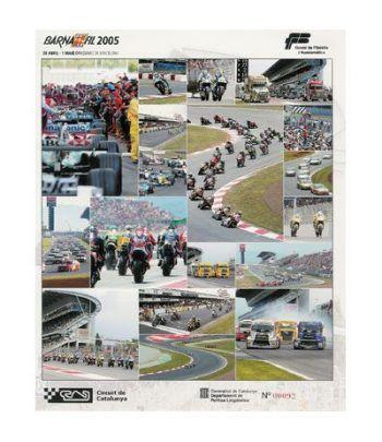 2005 BARNAFIL. Hojita recuerdo Maxi-Circuit de Catalunya  - 2