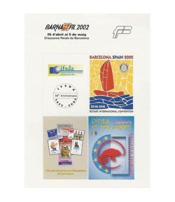 2002 BARNAFIL. Hojita recuerdo  - 2