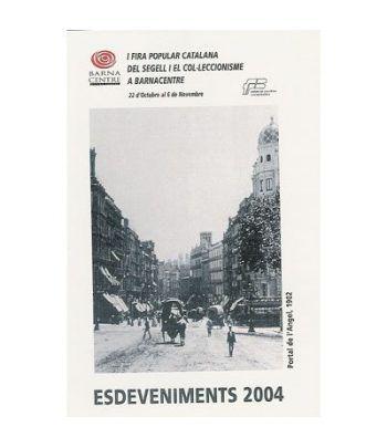 2004 BARNACENTRE. Hojita recuerdo  - 2