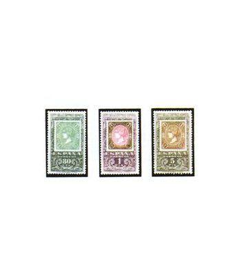 1689/91 Centenario del primer sello dentado  - 2