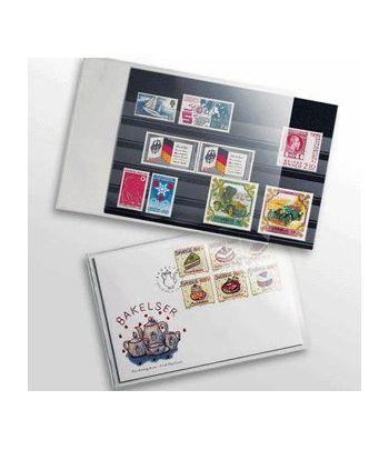 LEUCHTTURM Funda (187x125) Sobres primer día Noruega y Suecia 50 Bolsas archivo - 2