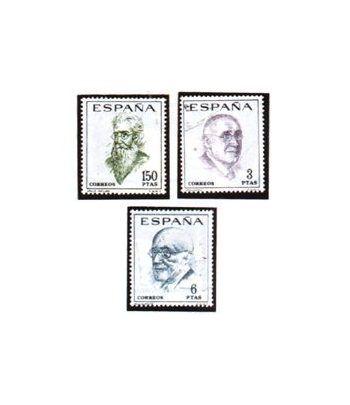 1758/60 Literatos españoles. Centenario de su nacimiento  - 2