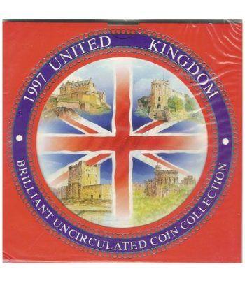 Estuche monedas Inglaterra 1997  - 2