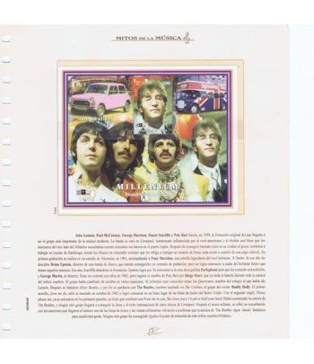 Colección Sellos Mitos de la Música (actualidad)  - 1