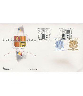 Sobres Primer Día Andorra Española 335/36  - 2