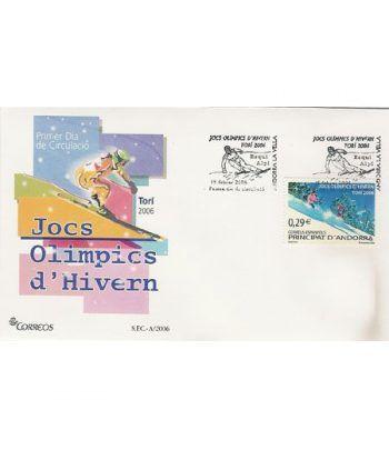 Sobres Primer Día Andorra Española 334  - 2