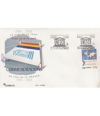 Sobres Primer Día Andorra Española 342 (2006)  - 2