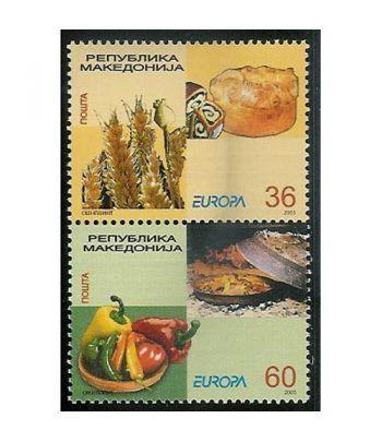 Europa 2005 Macedonia (2v)  - 2