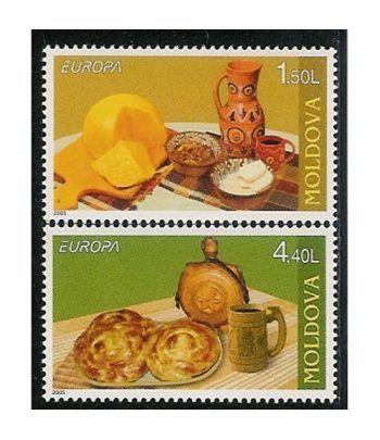 Europa 2005 Moldavia (2v)  - 2