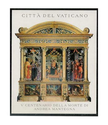 Vaticano HB 29 Andrea Mantegna 2006  - 2