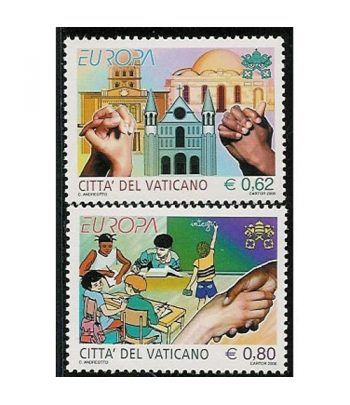 Vaticano 1396/7 Europa 2006. La integración  - 2