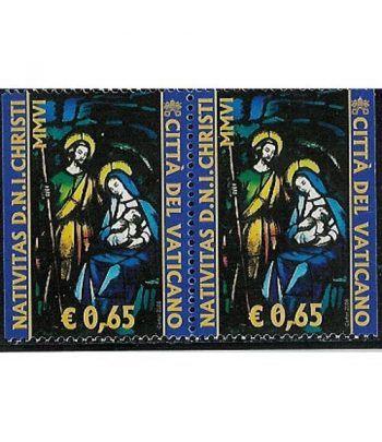 Vaticano 1422a Navidad 2006 (procedentes de carnet)  - 2