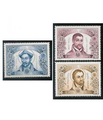 Vaticano 1398/400 Aniversarios Jesuitas 2006  - 2