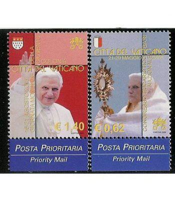 Vaticano 1407/8 Los viajes de Benedicto XVI 2006  - 2
