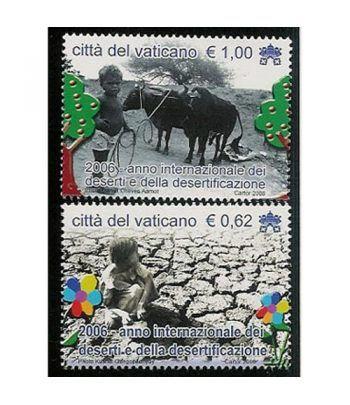Vaticano 1413/14 Año internacional desiertos 2006  - 2