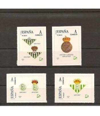 2007 Centenario del Betis. 4 sellos personalizados  - 2