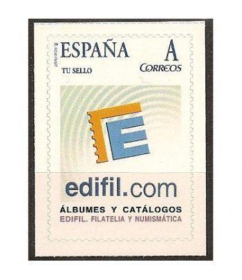 2007 EDIFIL 01. Logotipo de Edifil  - 2