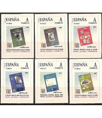 2007 EDIFIL 03/8. (6 sellos) Catálogos Edifil  - 2