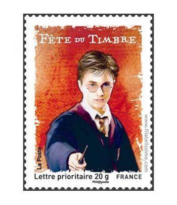 Cine. Francia 2007 Harry Potter sello  - 2