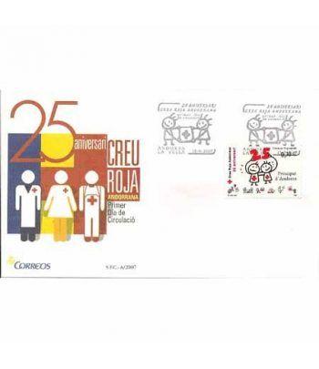 Sobres Primer Día Andorra Española 350 (2007)  - 2