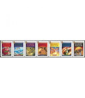 Cine. Inglaterra 2007 Harry Potter Libros 7 sellos  - 2