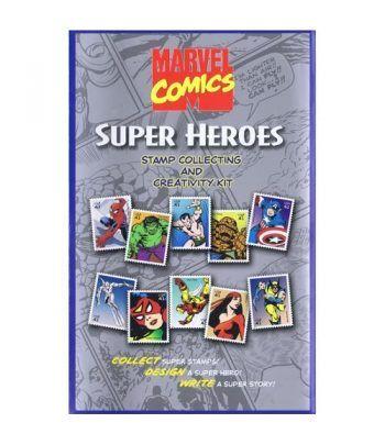Comics. USA 2006 Marvel Super Heroes (presentación pack sellos)  - 1