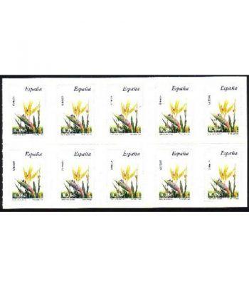 4218H Fauna y Flora AVE DEL PARAISO (hoja de 10 sellos)  - 2