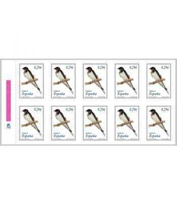 4217H Fauna y Flora GOLONDRINA (hoja de 10 sellos)  - 2