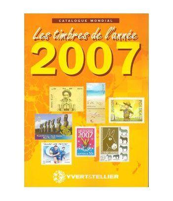 YVERT ET TELLIER Novedades mundiales 2007 Catalogos Filatelia - 2