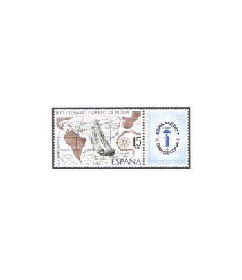 2437 Correo de Indias. ESPAMER 77  - 2