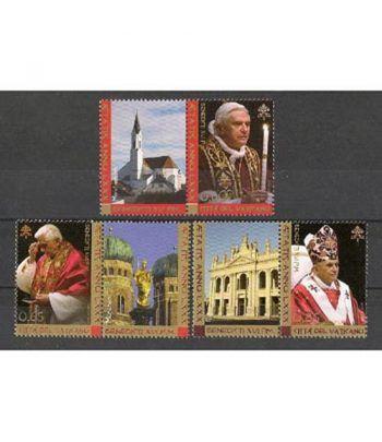 Vaticano 1424/6 80º aniversario Benedicto XVI 2007  - 2