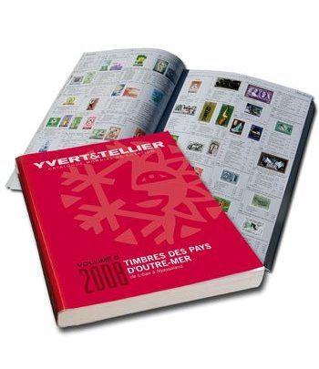 YVERT ET TELLIER Ultramar Volumen 5 (de Liban a Nyassaland) 2008 Catalogos Filatelia - 2