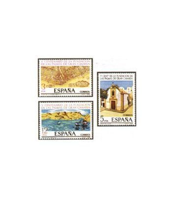 2477/79 Fundación de Las Palmas de Gran Canaria  - 2