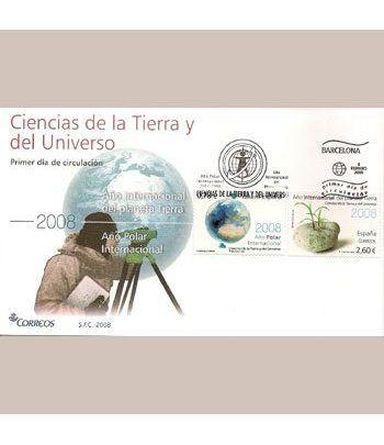 Sobres Primer Día España 4387/88 Ciencias (2008)  - 2