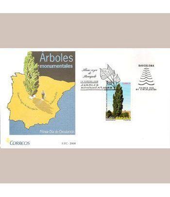Sobres Primer Día España 4390 Arboles (2008)  - 2