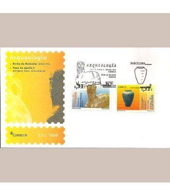 Sobres Primer Día España 4395/96 Arqueologia (2008)  - 2