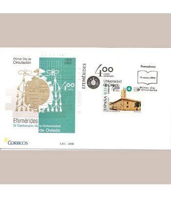 Sobres Primer Día España 4400 Cent. Universidad Oviedo (2008)  - 2