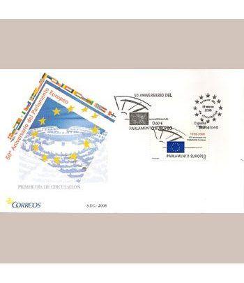 Sobres Primer Día España 4401 Parlamento Europeo (2008)  - 2