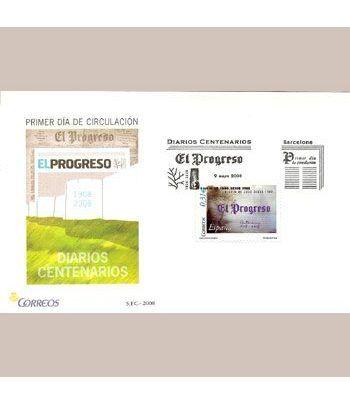Sobres Primer Día España 4413 Diarios (2008)  - 2