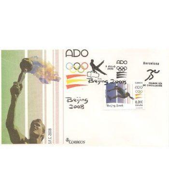 Sobres Primer Día España 4424 Juegos Olímpicos (2008)  - 2