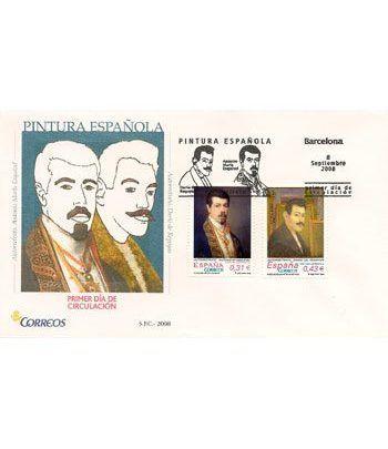 Sobres Primer Día España 4431/32 Pintura (2008)  - 2