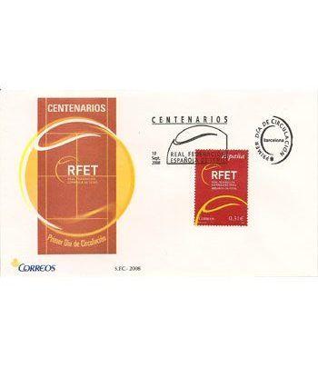 Sobres Primer Día España 4433 Federación Tenis (2008)  - 2