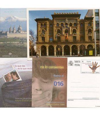 Entero Postal Año 2008 completo  - 2