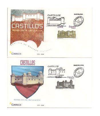 Sobres Primer Día España 4439/40 Castillos (2008)  - 2